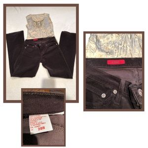Ag Adriano Goldschmied Jeans - 💫AG The Angel brown cords💫